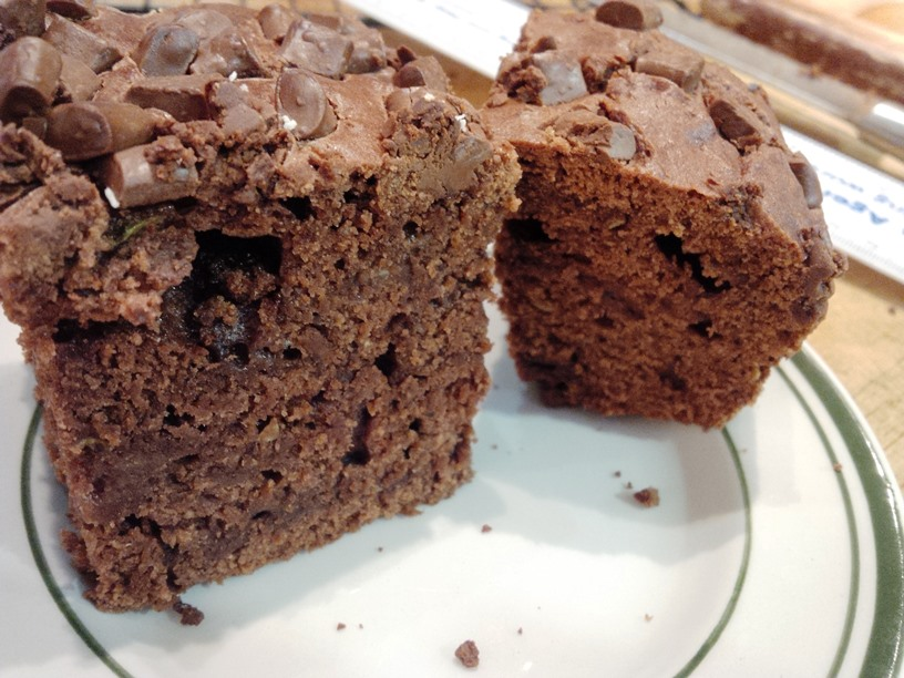 Rekha's Courgette Chocolate Cake